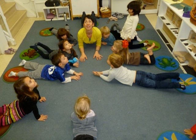 Picture of kids doing yoga #3